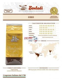 Купить кофе Bontadi Qualita Oro 1000 г в Москве