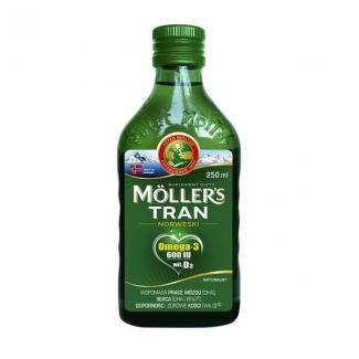 Рыбий жир Möller's  TRAN Omega-3 с витамином D3 мл (Норвегия)
