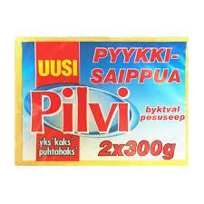Мыло хозяйственное Pilvi 2×300 гр.