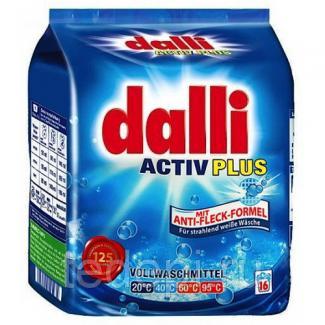 Dalli Activ Plus Концентрированный универсальный порошок для белого белья, 1040 г 16 стирок
