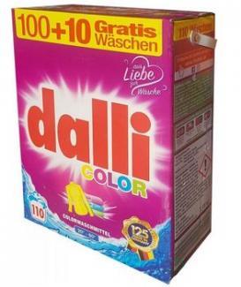 Dalli Color Концентрированный универсальный порошок для цветного и белого белья 1040 г 16 стирок