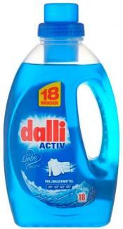 Dalli Activ Концентрированный универсальный гель для стирки белого белья с активной формулой 1100 г 20 стирок