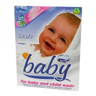 Solira Company Милли Беби - Детский стиральный порошок без фосфатов, 600 г