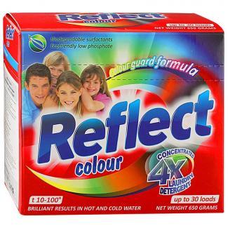Reflect Колор - Универсальный стиральный порошок для цветного белья концентрат, 650 г 30 стирок