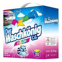 Универсальный стиральный порошок Der Waschkonig  Color 2,5 кг (30 стирок)  (Германия)