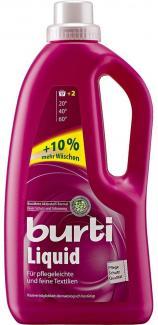 Купить Жидкое средство для стирки цветного и тонкого белья BURTI Liquid 1,3л в Санкт-Петербурге