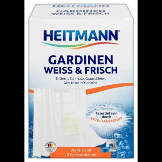 Средство HEITMANN для стирки белых гардин и занавесок 5 шт 50 гр
