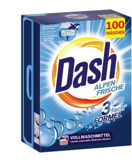 Стиральный порошок Dash Alpen Frische 6,5 кг 100 стирок купить в Санкт-Петербурге