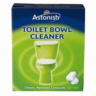 ASTONISH (TOILET BOWL) Средство для чистки унитазов, 10 шт.