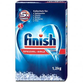 Соль для посудомоечной машины Calgonit Finish Spezial-salz 1,2 кг. (Германия)