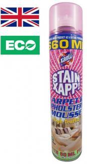 Пена для устранения пятен для ковров и мебельной обивки Xanto Stain Xapp Carpet Cleansing Foam 660 мл.