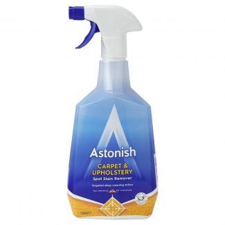 Средство для чистки ковров и обивки диванов Astonish carpet upholstery target spray 750 мл Великобритания
