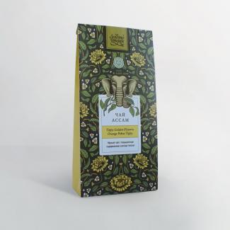 Чай чёрный крупнолистовой ASSAM TGFOP 100 г в фольге