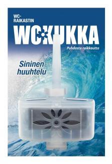 WC-Kukka блок для унитаза Sininen huuhtelu (морской бриз) 50 гр (Швеция)