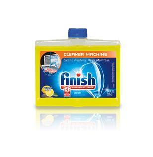 Средство для чистки посудомоечных машин Finish 5x Actions Лимон 250мл (Дания)