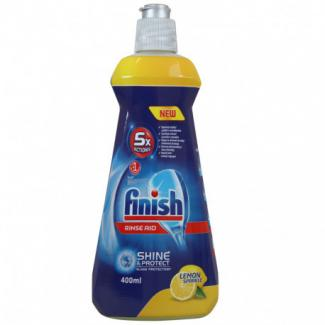 Ополаскиватель для ПММ Finish Shine Protect Лимон, 400 мл. (Дания)