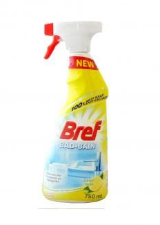 Спрей для очистки душевых кабин и ванной Bref Bad-Bain