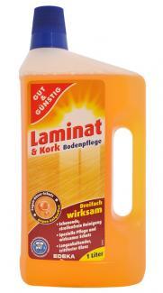 Средство для мытья пола Gut & Günstig Laminat & Kork Bodenpflege 1000 мл Германия