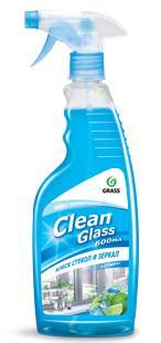 "Очиститель стекол ""Clean Glass"" блеск стекол и зеркал (голубая лагуна) 600 мл"