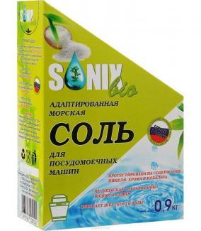 Соль для посудомоечной машины СОНИКС БИО, 900 г
