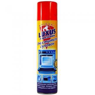 Luxus Professional  ОЧИСТИТЕЛЬ ДУХОВОК пена д/чистки СВЧ, кастрюль, аэрозоль 400 мл