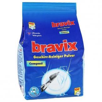 Bravix Порошок для ПММ, содержит активный кислород, п/пакет 1800 г