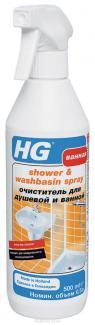 HG Очиститель для душевой и ванной, 500 мл