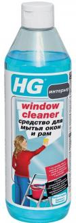 HG Средство для мытья окон и рам, 500 мл