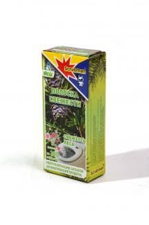 Полоска свежести для унитаза Scrubman №19-Лесная свежесть, 3 шт, 300 смываний