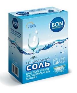 Специальная соль для ПММ 1,5 кг BON